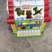 Много лотов! Игровой развивающий домик сортер! Потрясающая игрушка
