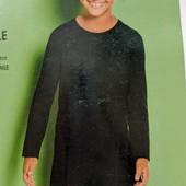 Трикотажное платьице Lupilu ( Германия) Размер 134/140 Цвет- черный