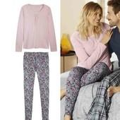 ❤️Esmara Германия❤️комфортная пижамка в пастельной расцветке из натурального хлопка евро 40\42