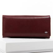 Стильный кожаный облегченный кошелек Bond