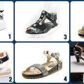 Шесть моделей босоножек - одна пара на выбор!