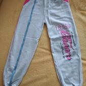 Новые штаны для девочки 11лет,100%коттон, длинна 77см, Турция,УП-10%
