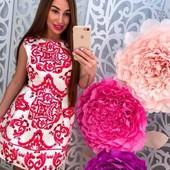 Последнее! Эффектное платье фабричный китай! новое!!! размер 42-44