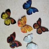 Бабочки интерьерные самоклеющиеся