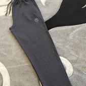 Батали!Чоловічі прямі спортивні штани трикотаж двухнитка, Турція р.2хл-5хл.Якість