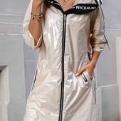 супер стильная моделька куртка -плащ S,M,L,XL