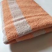 Махровий лицьовий рушник у відмінному стані 91*50 європейська якість за приємну ціну