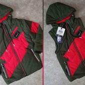 Куртка - Жилетка 2 в 1) Якість відмінна. Не пропустіть Неймовірні кольори