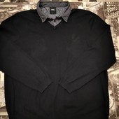 Свитерок рубашка обманка Burton р.XL