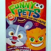"""Набор для творчества с наклейками """"Funny pets"""". Лоты комбинирую."""