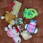 Мягкие игрушки одним лотом 7шт