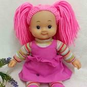 Кукла мягконабивная Simba 37 см с цветными волосами нюансы
