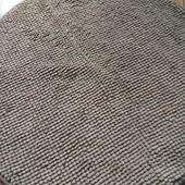 Коврик від Ікеа Лапша у ідеалі діаметр 55 см кавовий колір