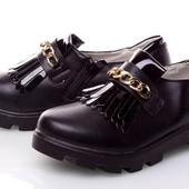 Красивые туфли на тракторной подошве в наличии 33-35 качество супер см наличие