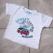 Стоп ❤ Фирменная яркая футболочка,до года❤ Много лотов!