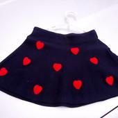 Стоп!! Фирменная удобная яркая красивая нарядная стильная юбка от h&m