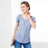 Блуза с ноткой романтики, от тсм Tchibo, Германия, евро 44, на наш 50