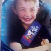 Disney детский чехол-накладка на ремень безопасности Kaufmann Германия