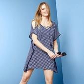 Стильная блуза-туника, парео для пляжа, размер 48/50 евро. Tchibo