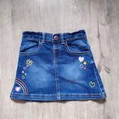 Джинсовая юбка nut meg на 2-3 года в хорошем состоянии