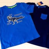 Набор із 2шт футболочок, розмір 98_104, бренд lupilu Геpманія