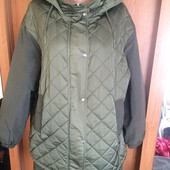 Куртка, весна, размер L. Zara. состояние отличное
