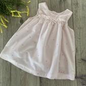 Платье для девочки 3-6 месяцев. В отличном состоянии.