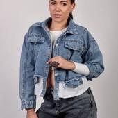 Бомбездная джинсовая куртка - Деним, качество сногшибательное.