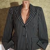 Собираем лоты!!! Женский пиджак в полоску, размер 44