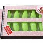 Набір пластикових зажимів для нігтів, 10шт.в коробці♡за бліц ціну приємний подаруночок