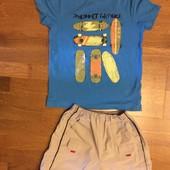 Футболка и шорты на 116—122