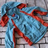 мегаклассная курточка на вашего малыша! ветровка спорт, состояние супер! фото реал