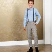 Отличные брюки с подтяжками на мальчика Pepperts Германия размер 158