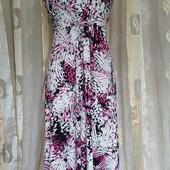 трикотажное платье -вискоза