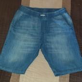 Шорты из тонкого, качественного джинса р.164 (13-14лет) б/у в отличном состоянии