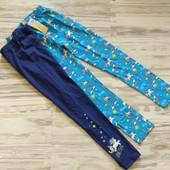 Шикарный комплект фирменных лосин девочке 9-10 лет. Сотни лотов.