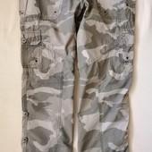 Камуфляжные легкие штаны-трансформеры