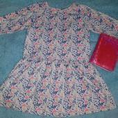 Обалденное утеплённое платье в новом состоянии, на девочку 9-11 лет
