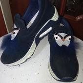 Вау!Супер сникерсы(туфли)для стильняжки.новые.36рр.(22-22.5см по стельке)