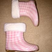 Резиновые силиконовые сапоги для девочки размер 23 стелька 15,5 см Trespass