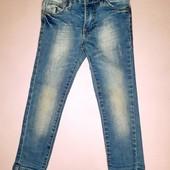 Эластичные стрейчевые джинсы джеггинсы для девочки 2-3 лет