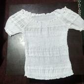 Нарядная блузочка с люрексом
