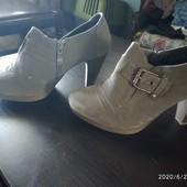Туфли замшевые,36