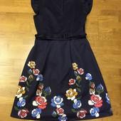 Новое платье 44-46, замеры