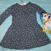 Фирменное платье+подарок,на девочку 4-5 лет