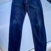 Стоп!!фирменные удобные яркие тонкие джинсовые скини