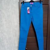 Фирменные новые коттоновые джинсы р.10-12