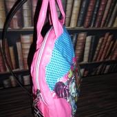 Легкий компактный рюкзак Школа Монстров. Розовый
