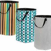 Стильная большая текстильная сумка корзина для белья или игрушек Германия