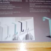 Набор 4шт дверные навесные крючки Livarno Living Германия